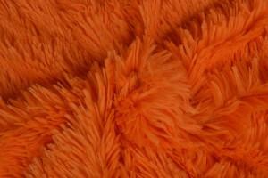 Plüschstoff 10 orange