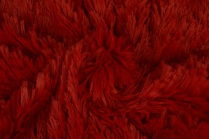 Plüschstoff 01 rot