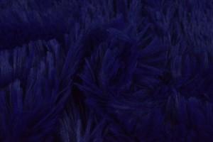 Plüschstoff 28 dunkelblau