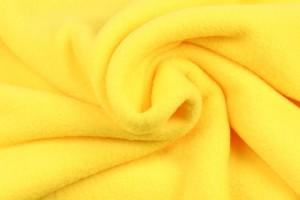 Polar fleece 07 gelb