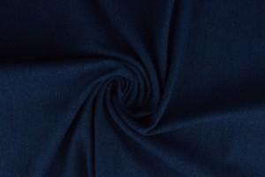 Gewaschene denim stretch - 01 - indigoblau