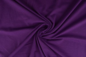 Baumwolle jersey 08 violett