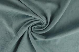 Baumwolle jacquard 52 vintage blau