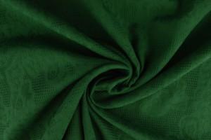 Baumwolle jacquard 32 dunkelgrün