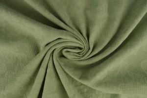 Baumwolle jacquard 34 alt grün