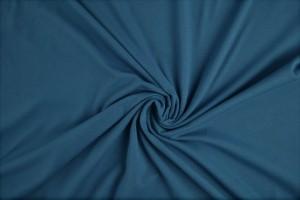 Baumwolle jersey 138 stahlblau