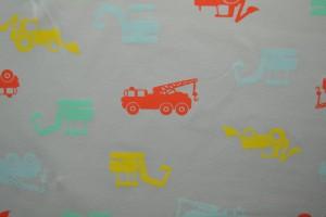 Cotton jersey print - wow 02-25 silbergrau