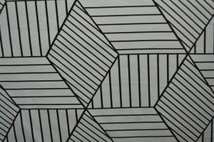 Cotton jersey print - wow 18-25 silbergrau