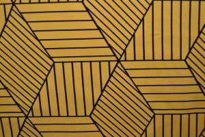 Cotton jersey print - wow 18-47 ocker