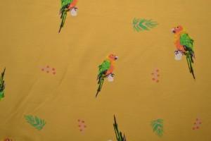 Cotton jersey print - wow 04-47 ocker