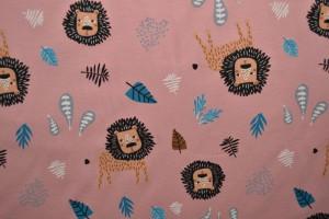 Cotton jersey print - wow 09-37 altrosa