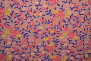 Cotton jersey print - wow 12-37 altrosa