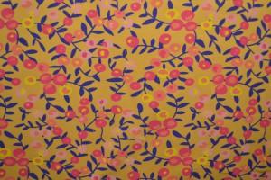 Cotton jersey print - wow 12-47 ocker