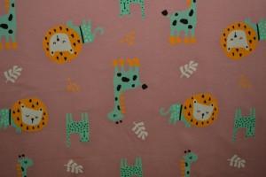 Cotton jersey print - wow 06-37 altrosa