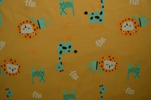 Cotton jersey print - wow 06-47 ocker