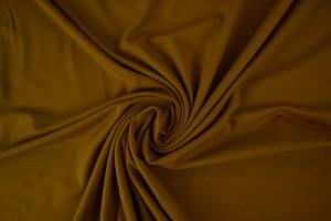 Baumwolle jersey 44 dunkel ocker