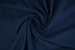 French Terry 48 marine blau