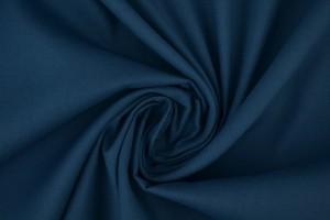 Baumwollpopeline 138 stahlblau