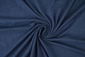 Baumwolle jersey m15 dunkel jeans melange