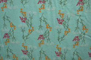 Cotton washed print w02-05