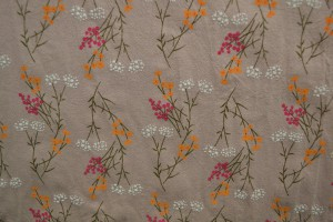 Cotton washed print w02-19