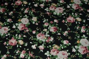Cotton print 3217-4 black