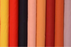 Farbkarte Baumwolle Voile