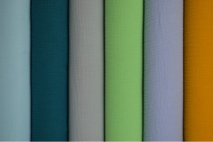 Farbkarte Musselin
