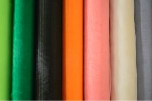 Farbkarte Organza