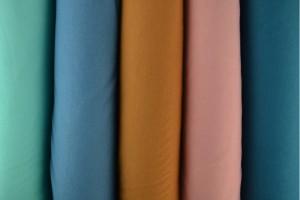 Farbkarte Sweatstoff