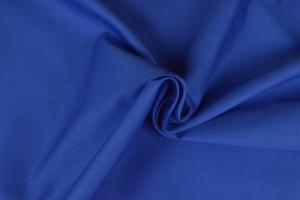 Baumwollpopeline 15 blau